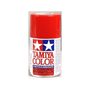 Spray Tamiya PS2 Rosso, 100ml