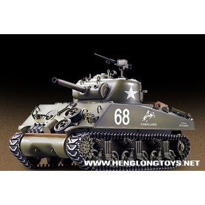 U.S.M4A3 SHERMAN 1/16 RC BATTLE TANK