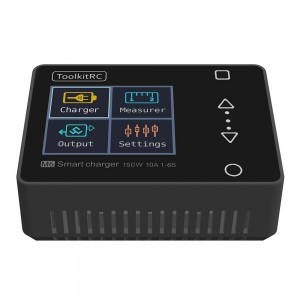 New smart battery charger B6 Toolktric